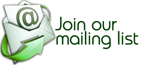 Click here to be added to our mailing list.